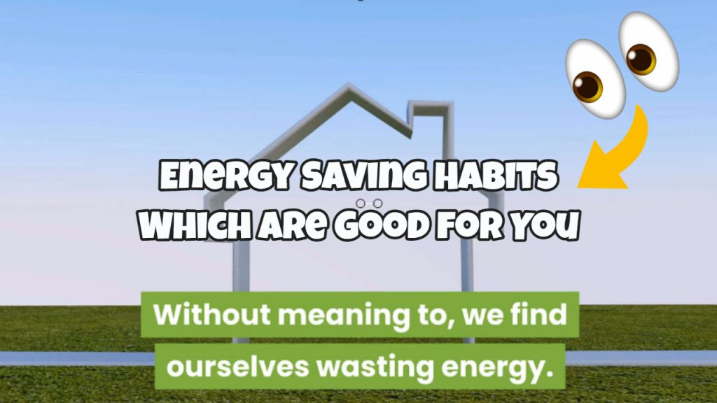 energy saving habits