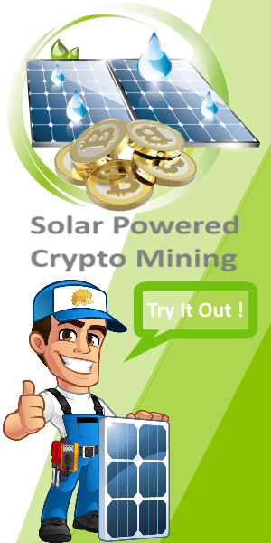 Solar Bitcoin Mining