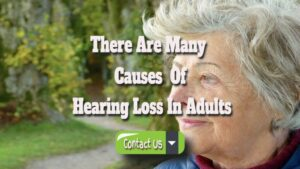 There Are Many Causes Of Hearing Loss In Adults.